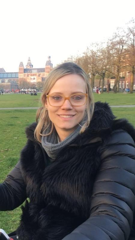 Amante de viagens, Fernanda conheceu Amsterdan em 2016 - Arquivo Pessoal