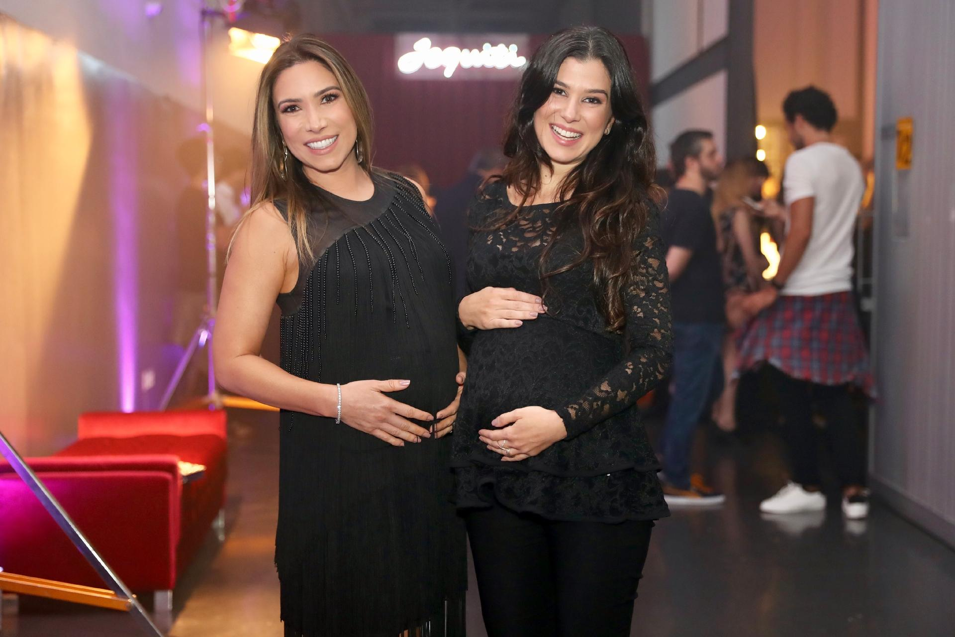Patricia Abravanel e a irmã posam grávidas em evento - 20 09 2017 - UOL TV  e Famosos bfe3613dee