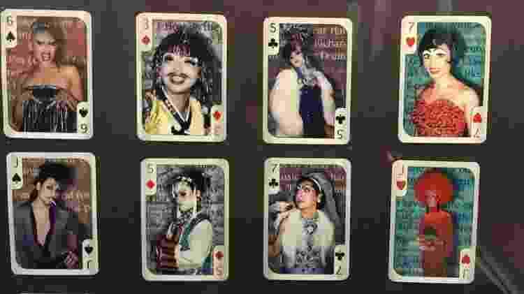 Obra de temática queer de Otsuka Takashi no Museu Britânico retrata drag queens do Japão - Lígia Mesquita/BBC Brasil - Lígia Mesquita/BBC Brasil