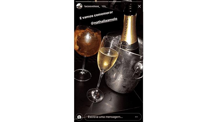 lucas veloso storie - Reprodução/Instagram  - Reprodução/Instagram