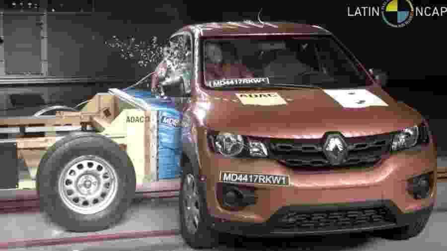 Renault Kwid E Melhor Do Que Chevrolet Onix E Ford Ka Em Seguranca Assista