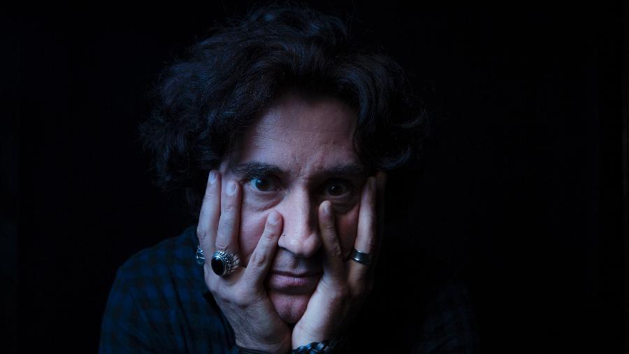 retrato de Dinho Ouro Preto  - Lucas Lima/UOL