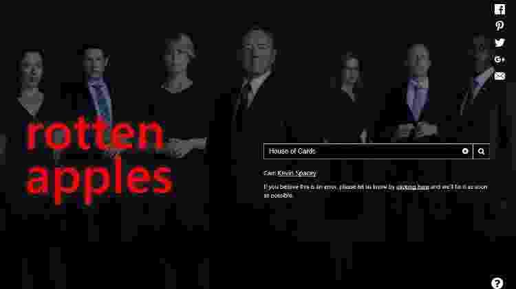 rotten apple - Reprodução/Rotten Apples - Reprodução/Rotten Apples