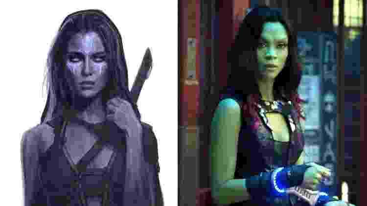 Design dos personagens de Guardiões da Galaxia - Reprodução/Ryan Meinerding - Reprodução/Ryan Meinerding