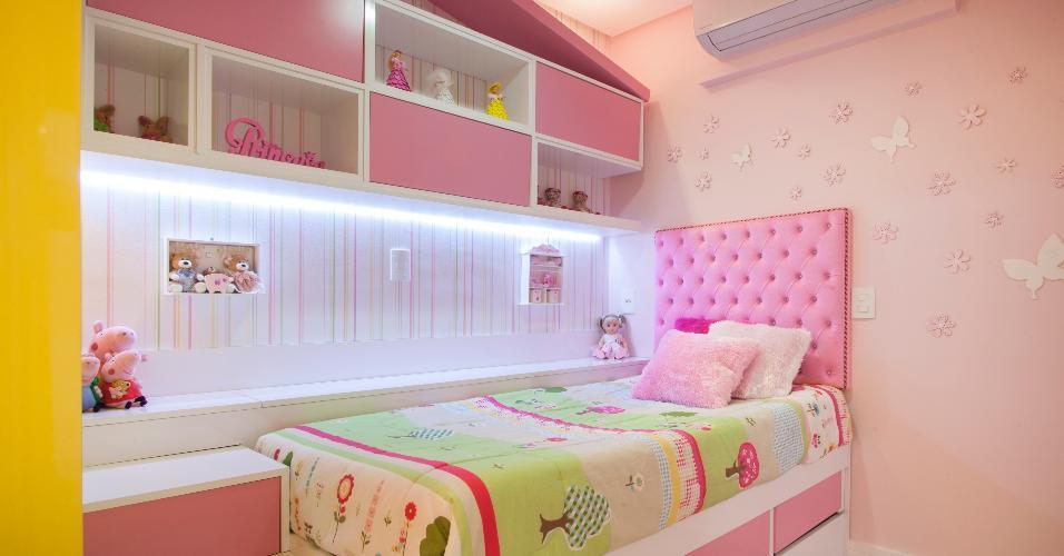 A metragem não impediu que as profissionais da AHPH Arquitetura realizassem o sonho da moradora de dormir numa casa de boneca