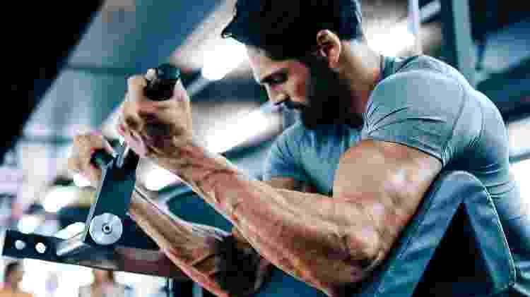 musculação, exercício, força, bíceps - iStock - iStock