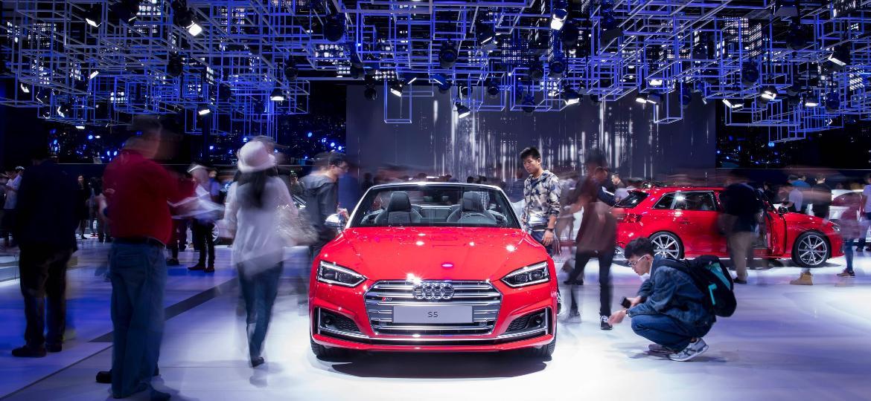 Audi S5 na China - Johannes Eisele/ AFP