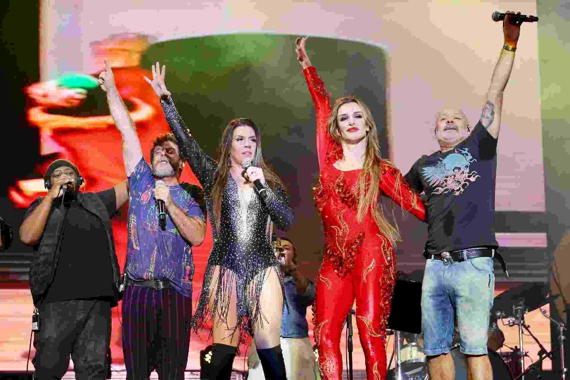 A drag queen Über Stripperella participa do show do Balão Mágico no Milkshake Festival - Manuela Scarpa/Brazil News