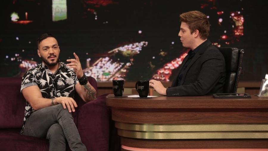 "Belo no ""Programa do Porchat"" - Antonio Chahestian/RecordTV"