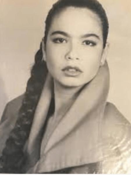 Vera Gimenez mostra foto de Luciana Gimenez na adolescência - Reprodução/Instagram