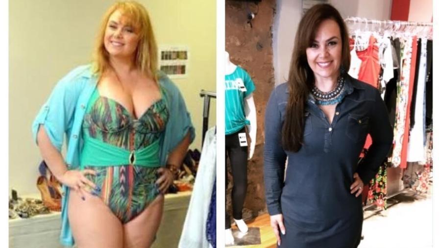 A ex-paquita Ana Paula Almeida eliminou 17 quilos com dieta e exercícios - Reprodução/Instagram