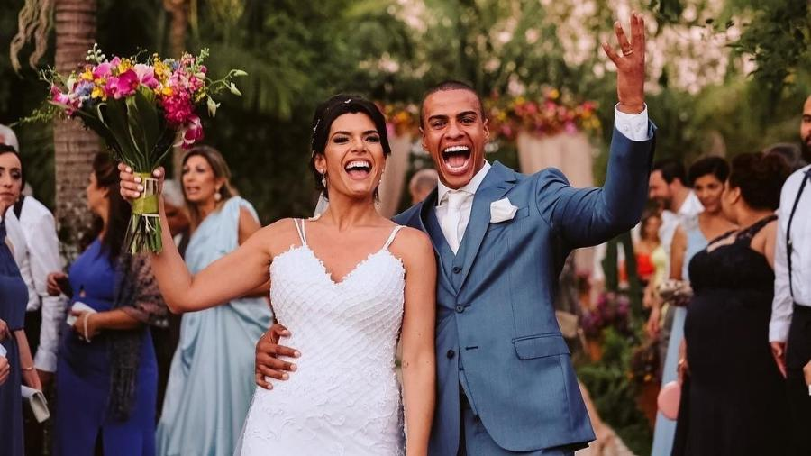 Thiago Oliveira se casa com publicitária no interior de São Paulo - Reprodução/Instagram/danilosiqueira.lets