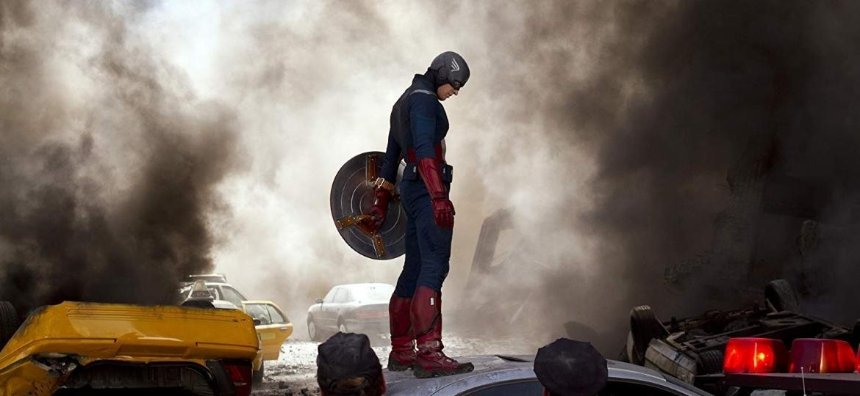 """Chris Evans como o Capitão América em """"Os Vingadores"""" - Divulgação"""