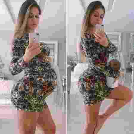 Uma semana após dar à luz Sophia, Mayra Cardi mostra antes e depois - Reprodução/Instagram/@mayracardi
