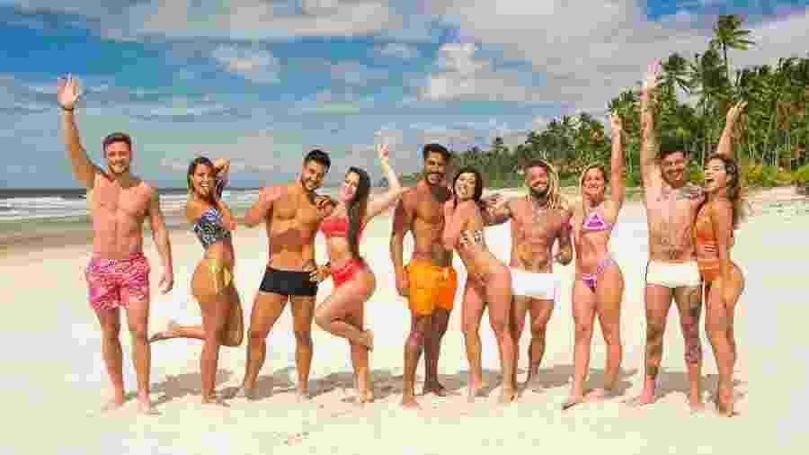 """Participantes da terceira temporada do """"De Férias com o Ex Brasil"""" - Reprodução/MTV"""