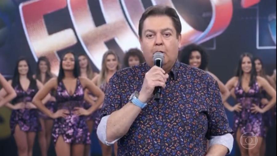"""Faustão lança discurso de entusiasmo no """"Domingão"""" - Reprodução/TV Globo"""
