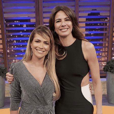 Ex-BBB Fani Pacheco com a apresentadora Luciana Gimenez - Divulgação/RedeTV! - Divulgação/RedeTV!