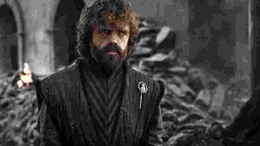 Peter Dinklage em cena do episódio final de Game of Thrones - Divulgação