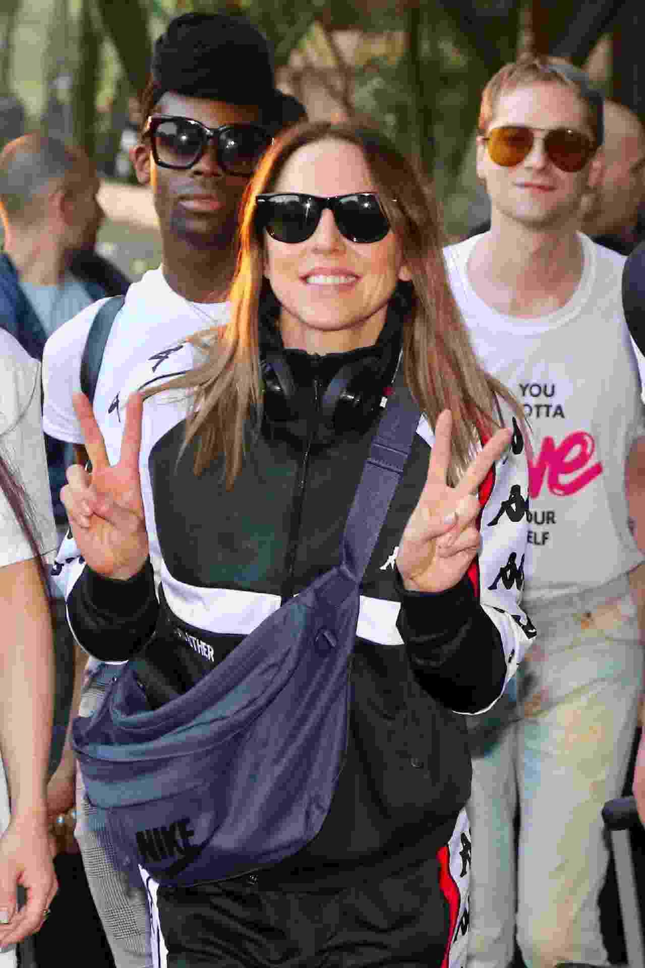 A Spice Girl, Melanie C, já está no Brasil onde participará da Parada do Orgulho LGBT - Manuela Scarpa/Brazil News