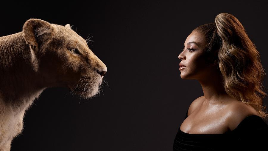 Beyoncé é Nala em O Rei Leão - Kwaku Alston/Disney/Divulgação