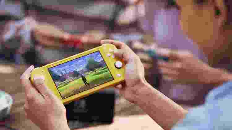 Nintendo Switch Lite videogame portátil - Divulgação - Divulgação