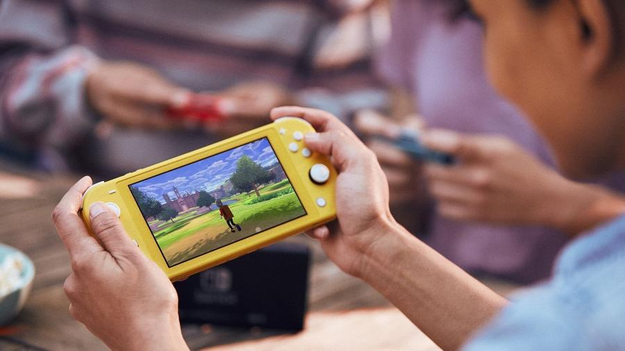 Lite é a versão portátil do Switch original lançado em 2017 - Divulgação