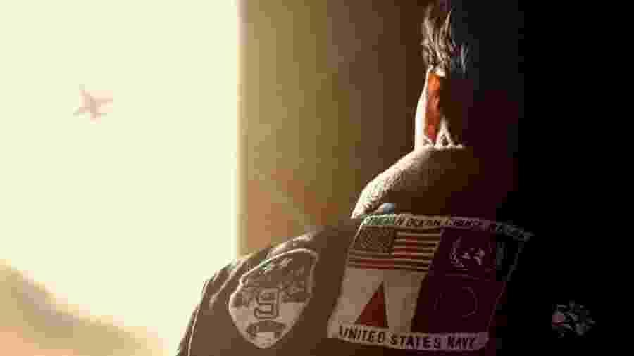 """Tom Cruise em cena de """"Top Gun: Maverick"""" - Divulgação"""