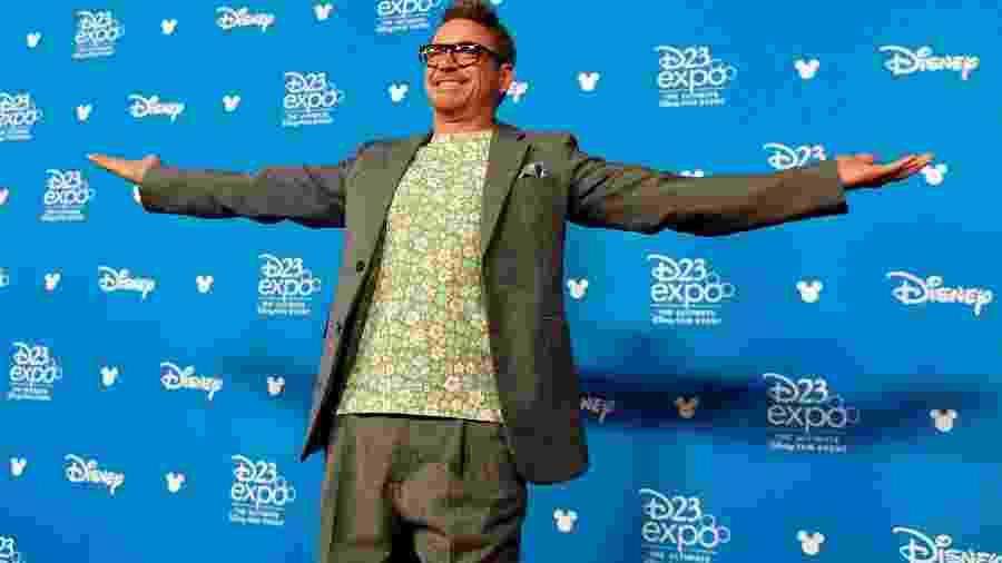 Robert Downey Jr. chega para a cerimônia da Disney Legends na D23 - Reprodução/Twitter