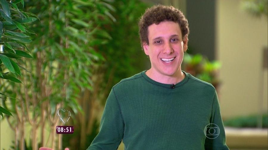 Samy Dana, 40, economista e professor da Fundação Getúlio Vargas - Reprodução/Globo