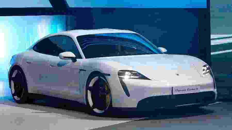 Porsche Taycan - Daniel Roland/AFP