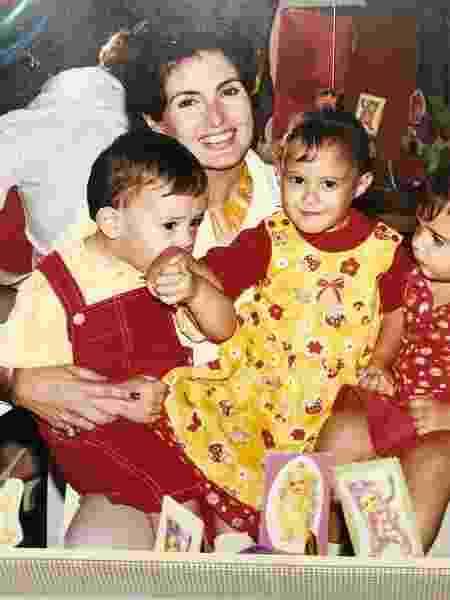 Fátima Bernardes posta foto antiga com filhos - Reprodução/Instagram