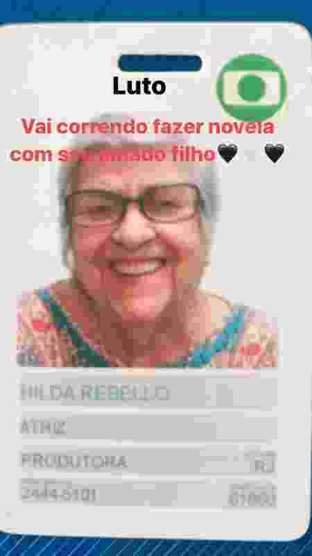 Hilda Rebello - Reprodução/Instagram - Reprodução/Instagram