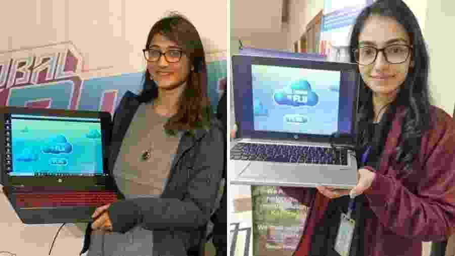 Bisma (esquerda) e Anam (direita) não vão à GDC 2020 por causa do visto americano - Reprodução