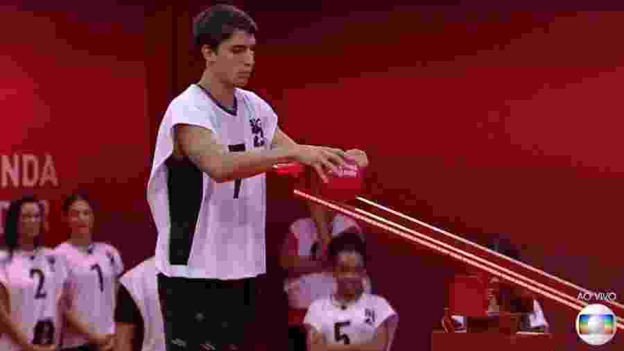 Prior na prova do líder - Reprodução/TV Globo