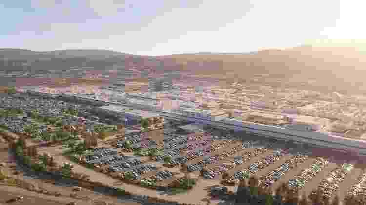 Tesla tem duas fábricas nos Estados Unidos; maior delas fica na Califórnia - Divulgação