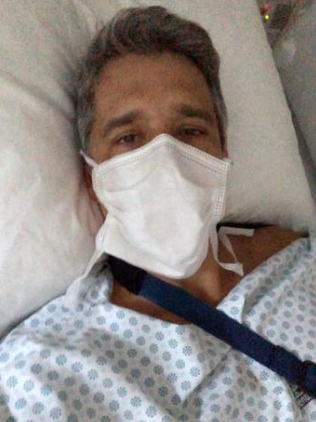 Márcio Garcia sofreu acidente doméstico e foi operado - Reprodução/Instagram