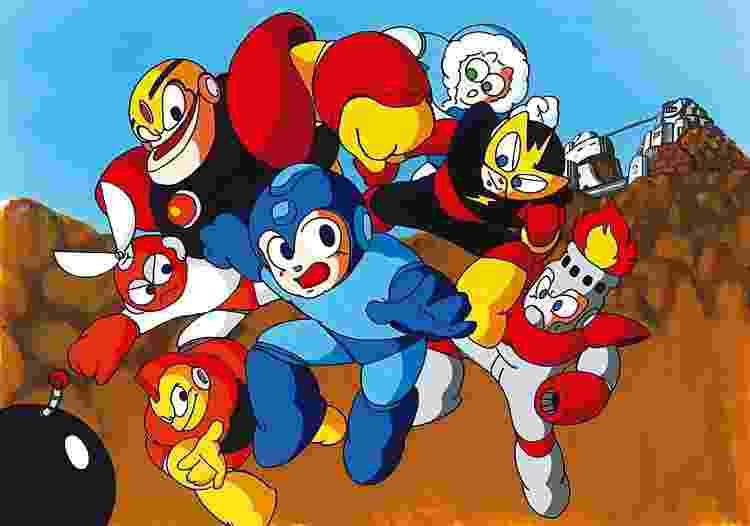 Mega Man - Reprodução - Reprodução
