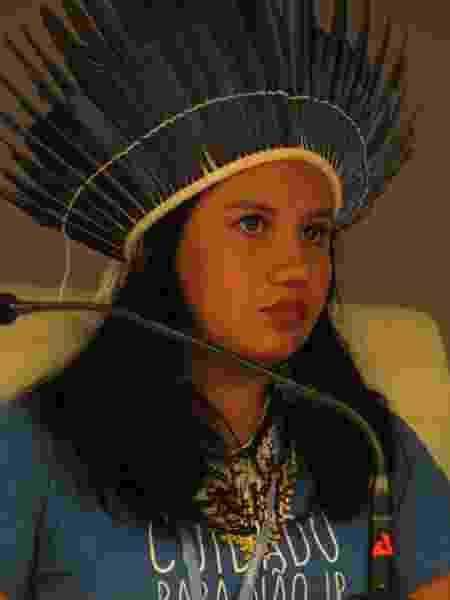 Valdinéia Sauré, 23 anos, indígena do povo Munduruku, gestora pública - Engajamundo - Engajamundo