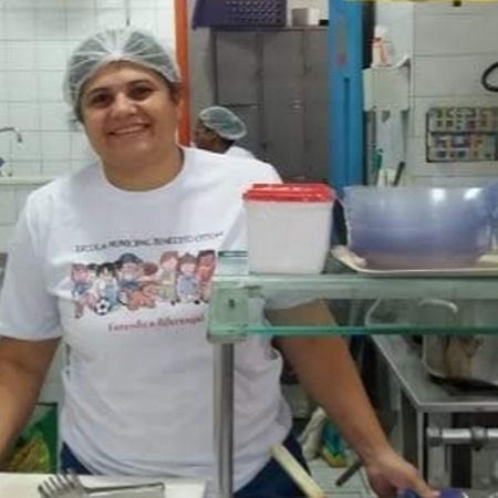A merendeira Cristiane Rodrigues, do Rio - Arquivo Pessoal