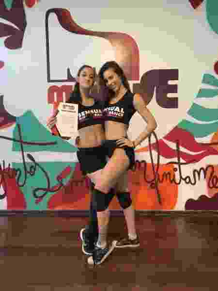 Maria Fernanda e Gabbi Sensual Hip Dance  - Acervo Pessoal  - Acervo Pessoal
