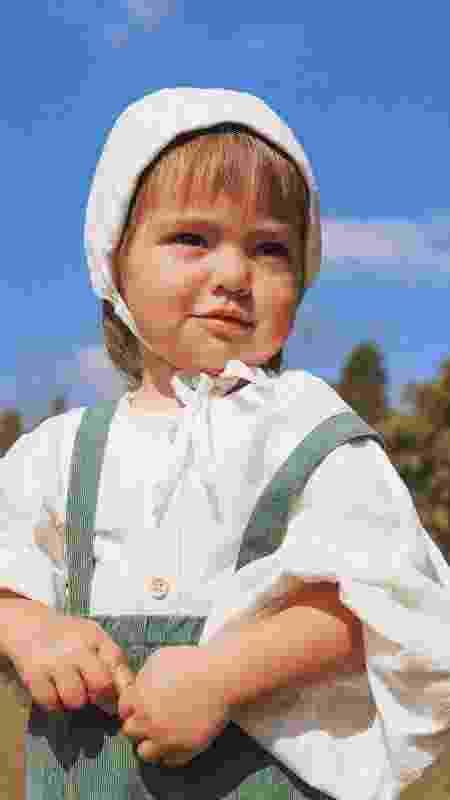 Look de Zoe à la camponesa - Reprodução Instagram - Reprodução Instagram