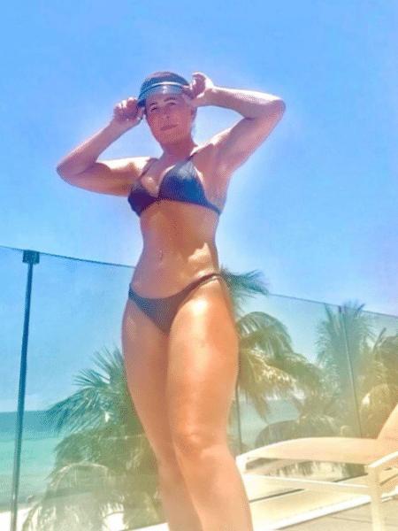 Zilu Godoi posou de biquíni em manhã de banho de sol na Flórida, Estados Unidos - Reprodução/Instagram/@zilucamargooficial