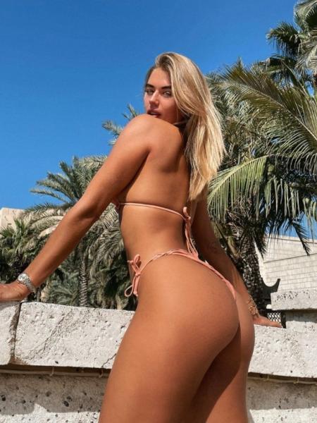 """A ex-participante do """"Love Island"""" Arabella Chi - Reprodução/Instagram"""