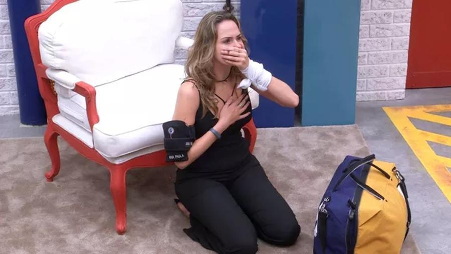 BBB 21: Ana Paula é eliminada em paredão falso - Reprodução/Globoplay