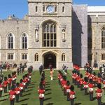 Funeral do príncipe Philip no Castelo de Windsor - Reprodução / Youtube