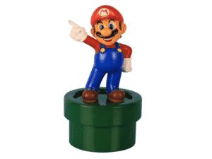 Luminária Nintendo - Super Mario Bros - Divulgação - Divulgação