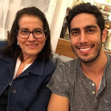 Jonathan Nemer e a mãe, Sara Nemer - Reprodução/Instagram