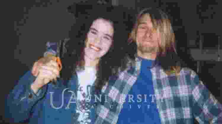 Tessa Osbourne e Kurt Cobain, vocalista do Nirvana - Reprodução/Iconic Auctions - Reprodução/Iconic Auctions