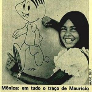 """Mônica, filha de Mauricio de Sousa, com sorrisão que inspirou pequena """"dentuça"""" - Reprodução/Instagram/monicasousa"""