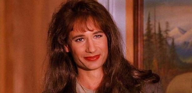 """David Duchovny como agente transgênero Denise Bryson em """"Twin Peaks"""" - Reprodução"""